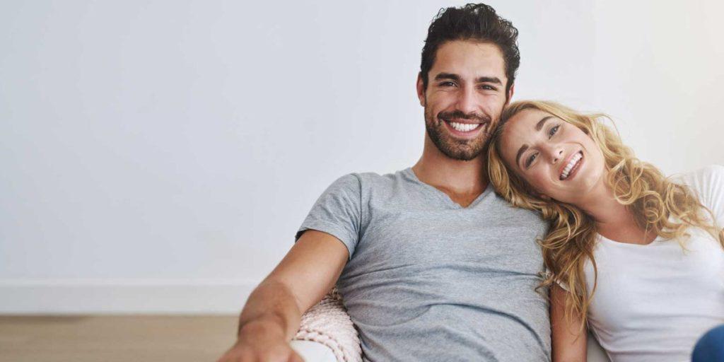 coppia sorriso