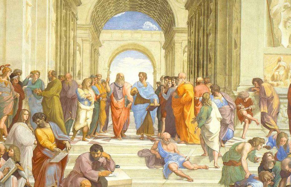 umanesimo scuola di atene